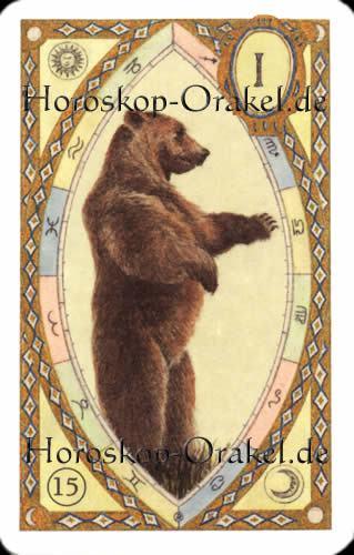 Der Bär, Waage Tageshoroskop Liebe für heute