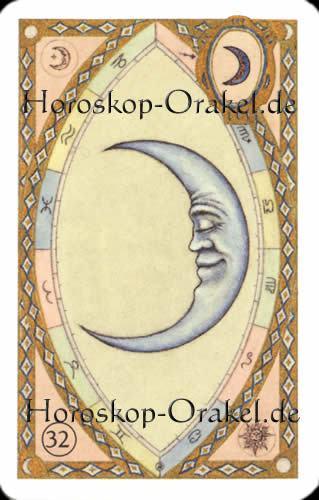 Der Mond, Waage Tageshoroskop Liebe f�r heute